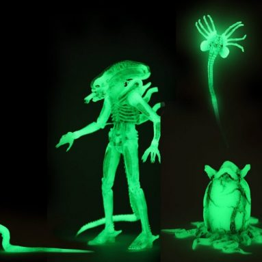 Alien Glow In The Dark Ultimate Big Chap Action Figure a NECA SDCC 2020 Exclusive