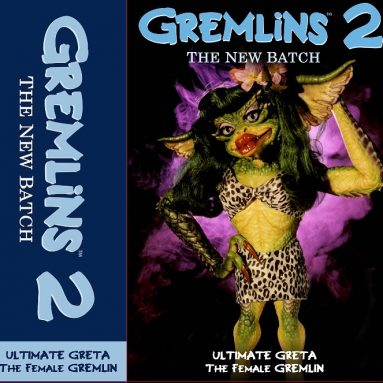 NECA Greta Gremlin Action Figure Packaging Reveal