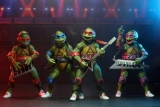 N.E.C.A. Reveals SDCC 2020 Exclusive Teenage Mutant Ninja Turtle Musical Mutagen Tour 4 Pack