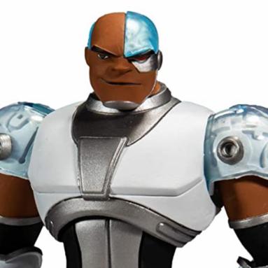 McFarlane Toys DC Multiverse Teen Titans Cyborg Action Figure