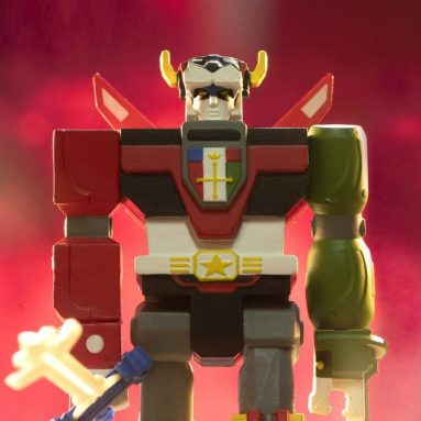 Voltron ReAction Figure by Super7 Available Now